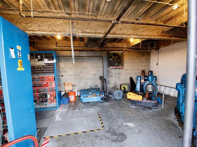 Before - Obsolete generators & motors
